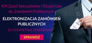 XIX Zjazd Specjalistów i Ekspertów ds. Zamówień Publicznych - ApexNet